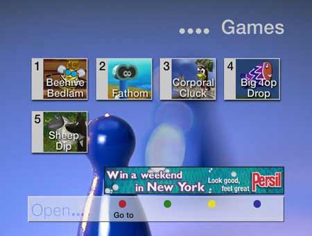 Sky digital open games