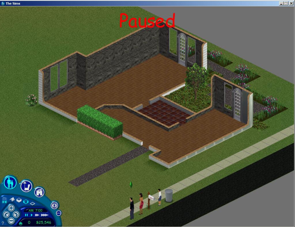 The Sims 3 Sim Lane