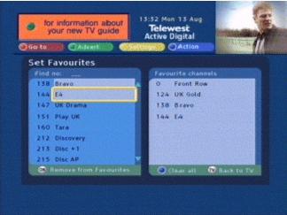 Telewest Active Digital Guide