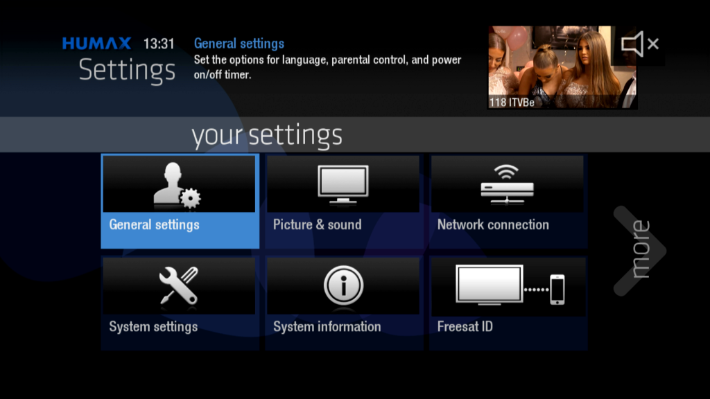 Freesat Freetime Humax