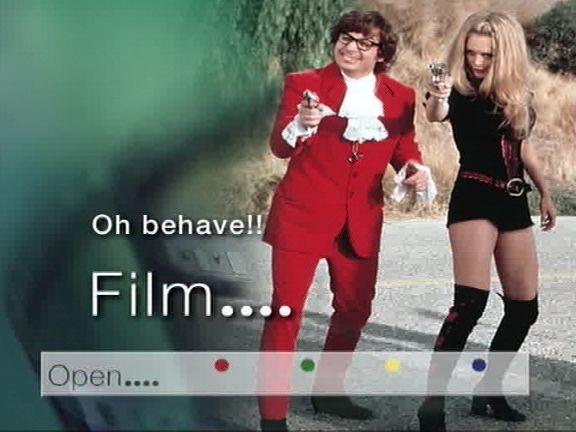 open film