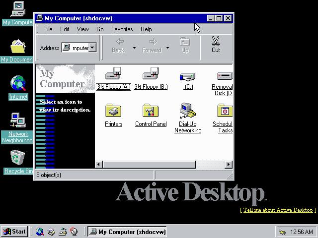 Windows NT5 Desktop