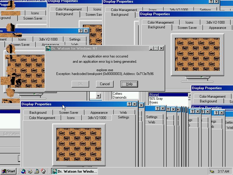 Windows NT5 Crash
