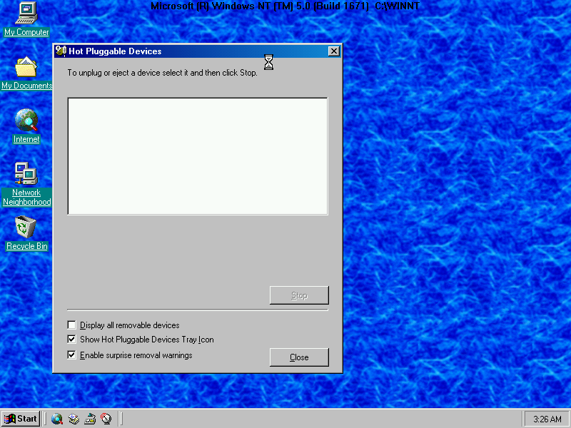 Windows NT5 Device Removal
